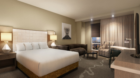 Hyatt Regency Tysons Corner Center features 300 modern guestrooms, including 17 stylishly appointed suites and one Presidential Suite. (Photo: Business Wire)