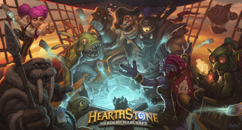 Hearthstone: Heroes of Warcraft key art (Graphic: Business Wire)