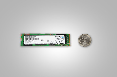 Samsung SM951-NVMe SSD (Photo: Business Wire)