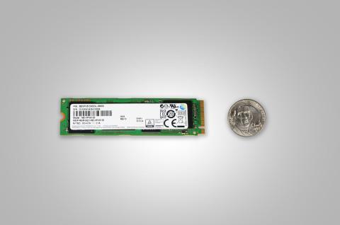 Samsung SM951-NVMe SSD (Photo: Business Wire)