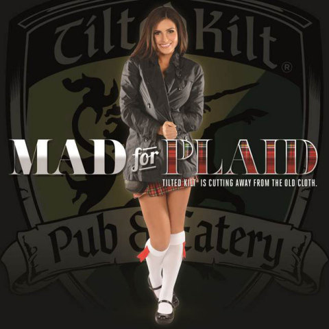 Tilted Kilt is set to unveil a redesign of the iconic Kilt Girl costume. (Graphic: Business Wire)