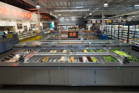 Whole Foods Market Gilman's salad bar choices without pollinators (Photo: Whole Foods Market/Phil Bo