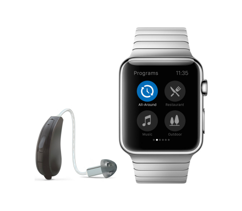 Legend RIE and Apple Watch (Photo: Business Wire)