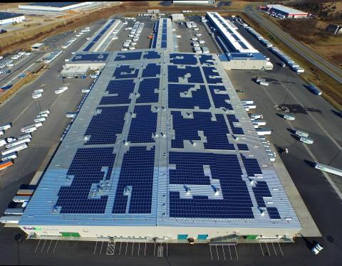 Socore Energy Turns On Its Biggest Solar Installation