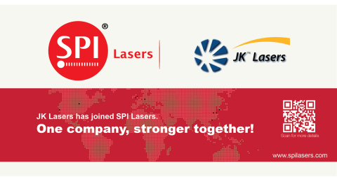 SPI acquires JK Lasers – One company, stronger together (Graphic: Business Wire)