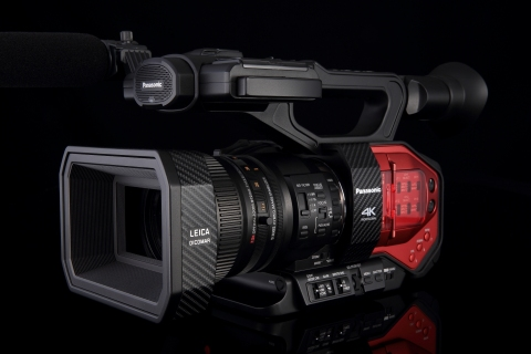 4K掌上型攝錄影機(照片:美國商業資訊)