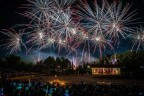 Fireworks shower the Texas Renaissance Festival - the largest and most acclaimed Renaissance-themed event in the nation. (Photo: Steven David Photography)