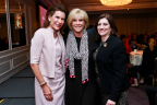 "Nancy G. Brinker, Founder and Chair, Global Strategy, of Susan G. Komen, breast cancer survivor and former ""Good Morning America"" host Joan Lunden and Komen President and CEO Dr. Judy Salerno at the Komen Advocacy Summit (Photo: Business Wire)"