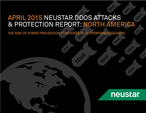 2015 Neustar North American DDoS Report (Graphic: Business Wire)