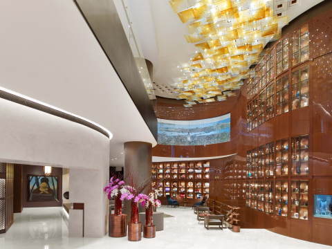 Lobby at The St. Regis Istanbul designed by Emre Arolat Architects (Photo: Business Wire).