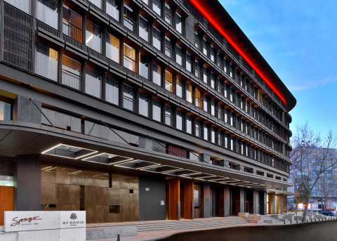 Exterior view of The St. Regis Istanbul (Photo: Business Wire).