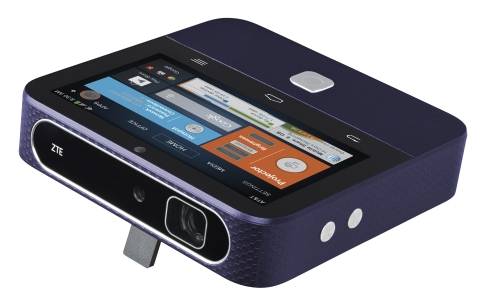 ZTE Redefines the Smart Projector with Arrival of Spro 2 (Photo: Business Wire)