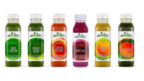 Evolution Fresh Debuts New Line of Cold-Pressed Fruit & Vegetable Juices (Photo: Business Wire)