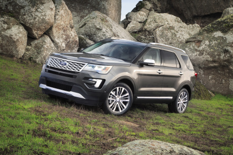 Because every great adventure is made perfect by the ideal soundtrack, the new Ford Explorer Platinum features an exclusive Sony(R) audio system with two industry-first technologies - Live Acoustics(TM) and Clear Phase(TM). (Photo: Business Wire)