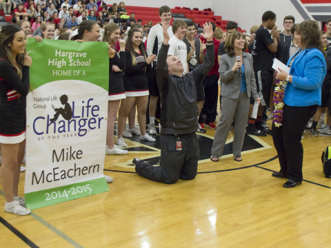 National Grand Prize LifeChanger of the Year Winner Mike McEachern (Photo: Business Wire)