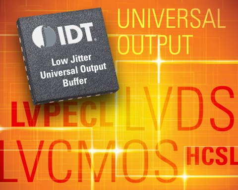 IDT Combines Flexibility and Performance with New Programmable Universal Output Fanout Buffers (Graphic: Business Wire)