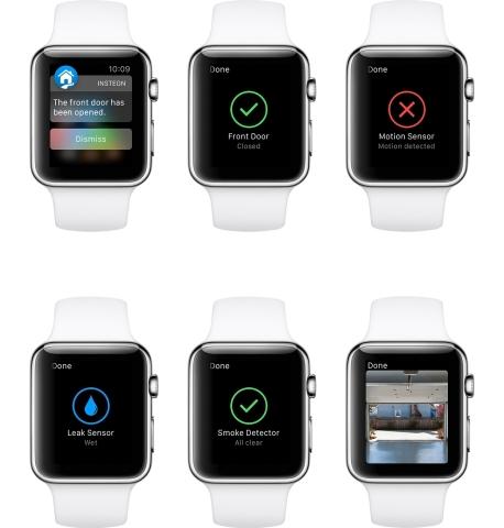 Insteon Apple Watch App (Photo: Business Wire)