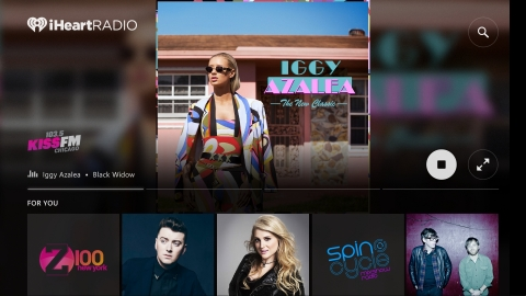 iHeartRadio Now Available on Xbox One (Photo: Business Wire)