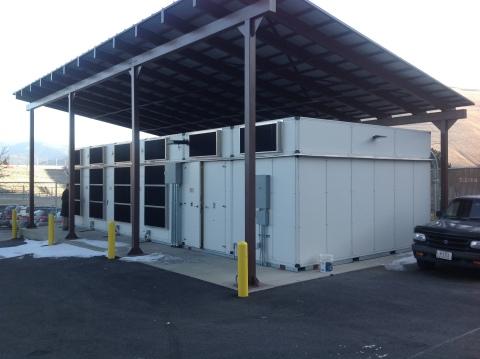 CommScope modular data center at the University of Montana (Photo: Business Wire)