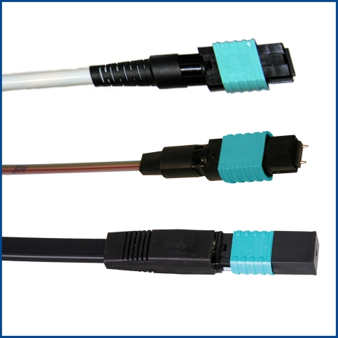 Industry's First 8 Fiber QSFP-40G-SR4 MPO Splice-On Connectors for 40G/100G Data Center Connectivity by Sumitomo Electric Lightwave Corp. (Photo: Business Wire)