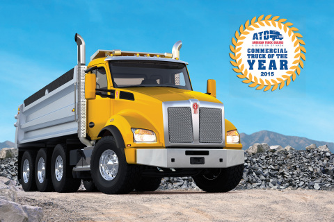 Kenworth T880 - ATD Commercial Truck of the Year 2015 (Photo: Business Wire)