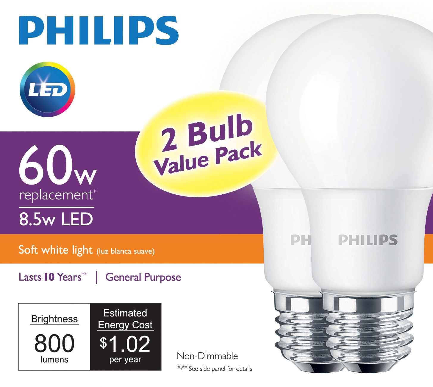 No rebate? No problem - Philips sets new standard for 60-watt LED ...