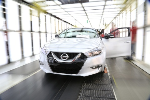 2016 Nissan Maxima (Photo: Business Wire)