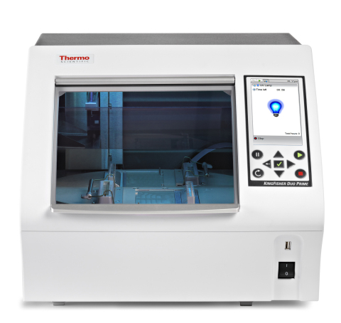 Thermo Scientific KingFisher Duo Prime Nucleic Acid and Protein Purification System (Photo: Business Wire)