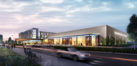The $85 million Convention Center at Watters Creek will include a full-service, four-star, 290-guest room hotel, a 64,500 SF convention center and 1,000-car parking garage in Allen, Texas. (Photo: Business Wire)