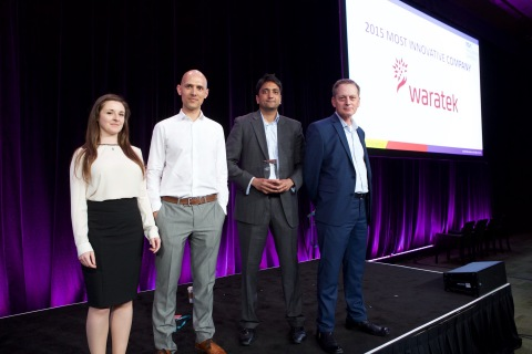 "Waratek was named ""Most Innovative New Company at RSA Conference 2015"" during this year's Innovation Sandbox Contest. (Photo: Business Wire)"