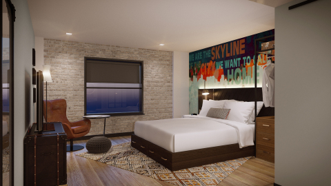 Starwood Hotels & Resorts - Tribute Portfolio - Nashville - Guest Bedroom - Rendering (Photo: Business Wire)