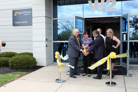 Synchrony Financial President and CEO Margaret Keane is joined by Kettering Mayor Don Patterson and