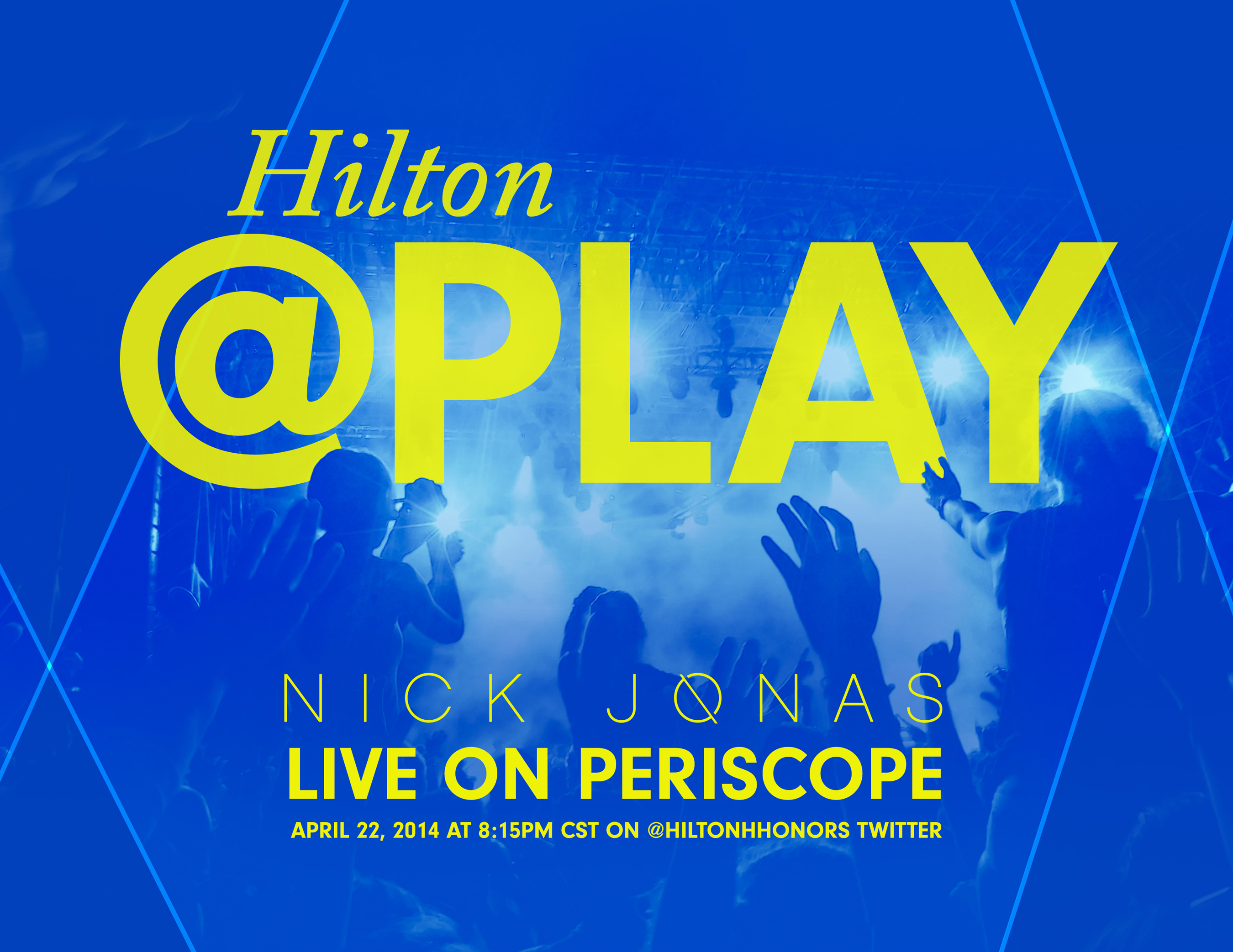 Periscope To Stream First Official Live Concert, Featuring Nick Jonas
