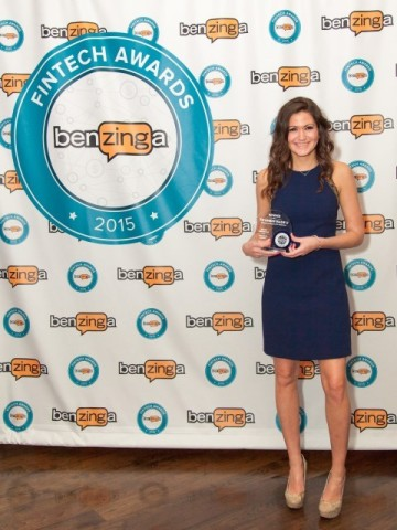 "TD Ameritrade was honored with a ""Special Achievement - Educational Initiative"" at Benzinga's Fintec ..."
