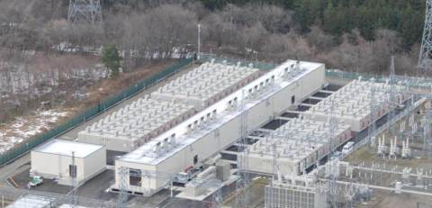 Large-scale BESS for Nishi-Sendai Project (Photo: Business Wire)