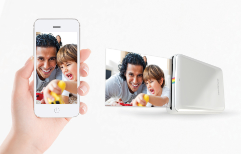 Print images instantly with your mobile device and the Polaroid Zip photoprinter, which is now globa ...