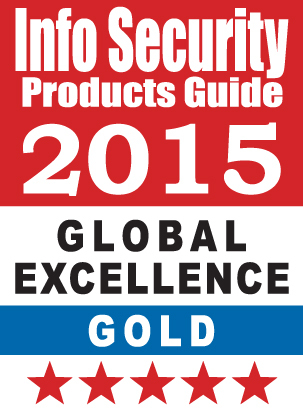 Info Security Product Guide 2015 Gold Award (Graphic: Business Wire)