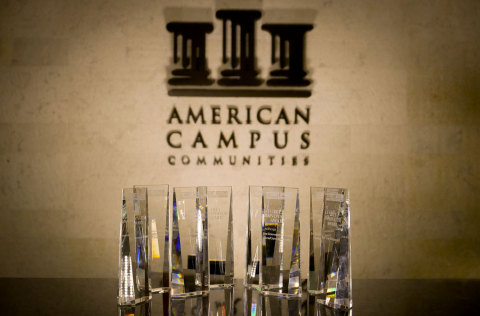 American Campus Communities Wins Eight INNOVATOR Awards at Student Housing Business' Interface Conference (Photo: Business Wire)