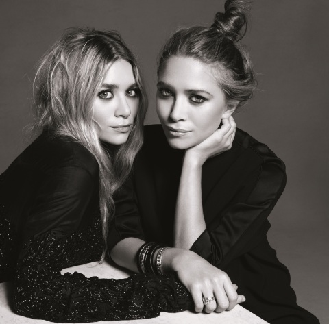 Mary-Kate and Ashley Olsen Portrait (Credit: Amy Troost)
