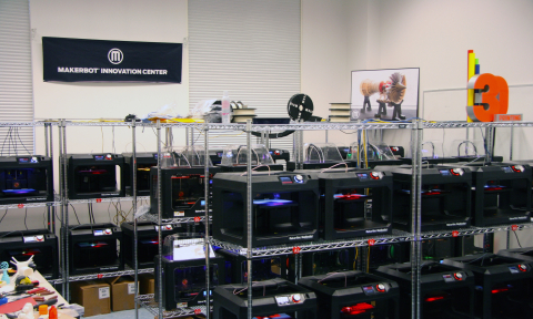 The MakerBot Innovation Center brings 3D printing technology to faculty and thousands of students, a ...