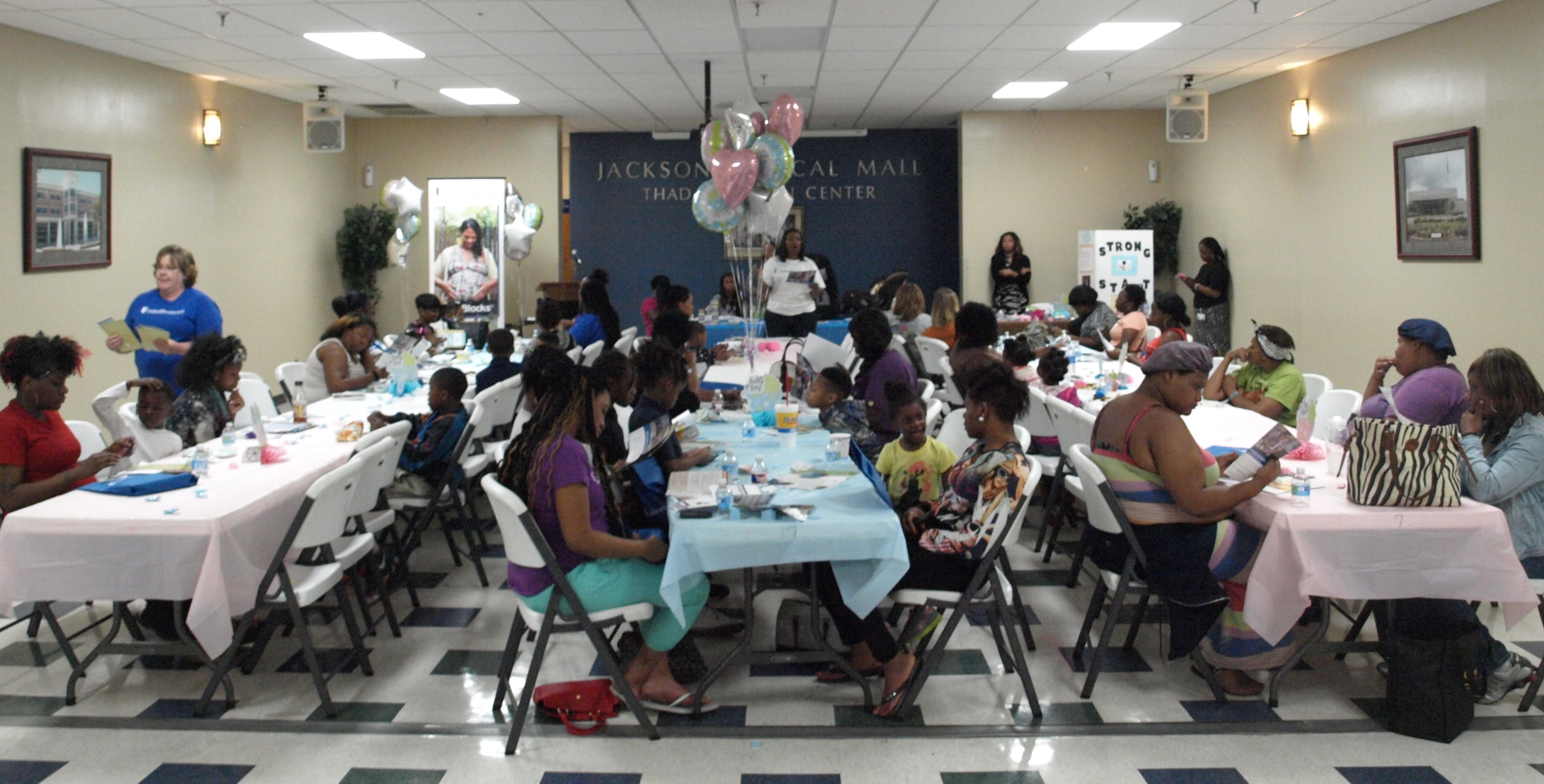 UnitedHealthcare Hosts Baby Shower at Family Health Center for