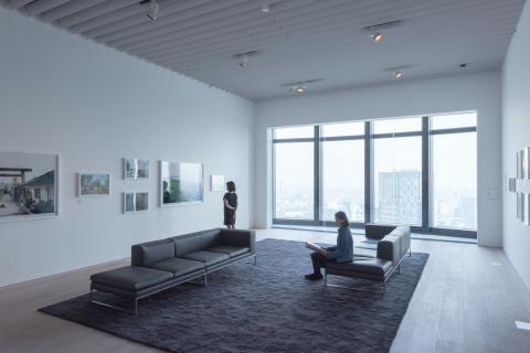 """Installation view: """"MAM Collection 001: Two Asian Maps - Ozawa Tsuyoshi + Shitamichi Motoyuki"""" (April 25 - July 5, 2015), Mori Art Museum, Tokyo, Photo: Yuya Furukawa (Photo: Business Wire)"""
