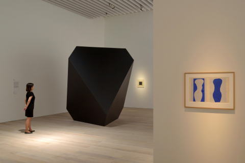 """Installation view: """"Simple Forms: Contemplating Beauty"""" (April 25 - July 5, 2015), Mori Art Museum,  ..."""
