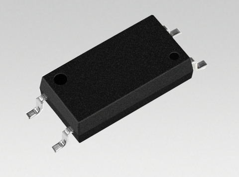 "Toshiba: Low-height Package Low-input Current Drive Transistor Output Photocoupler ""TLP383"" (Photo:  ..."