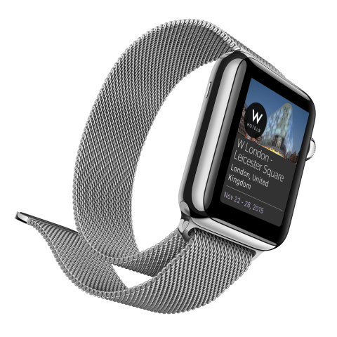 Starwood Hotels & Resorts - SPG App for Apple Watch (Photo: Business Wire).