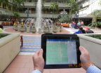 Orlando International Airport's mobile app delivers wayfinding capabilities to travelers. (Photo: Business Wire)