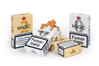 0.0 mg Nicotine MAGIC 0 and 0.2 mg Nicotine MAGIC 2 Cigarettes (Photo: Business Wire)