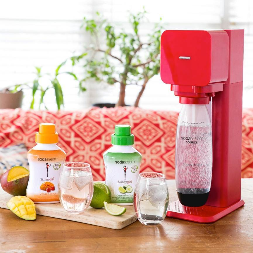 e2d4c7f02284 SodaStream® and Skinnygirl™ Sparkle with the Launch of New All Natural  Flavors – Mango Berry and Cucumber Lime | Business Wire