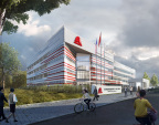 Rendering of Axalta's new R&D and Technology Center in Shanghai, China (Graphic: Business Wire)