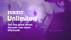 Jukely Unlimited - Live Concerts: One Monthly Fee (Graphic: Business Wire)